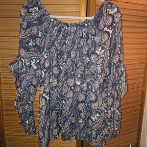 I Jeans by Buffalo Paisley Blouse